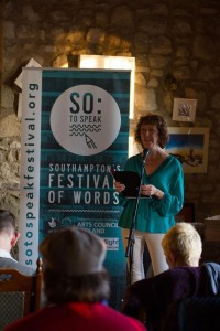 Lesley Scott wows audiences with her humour at her first slam