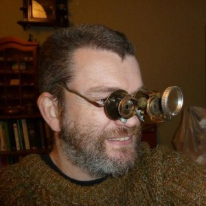 Dave Hubble is a steampunk artist as well as a writer