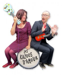Les Kazoo D'amour, these two won't hurt a fly honestly