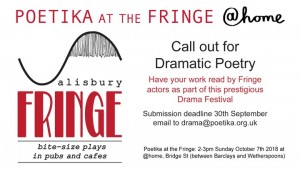 Poetika at the Fringe 2018
