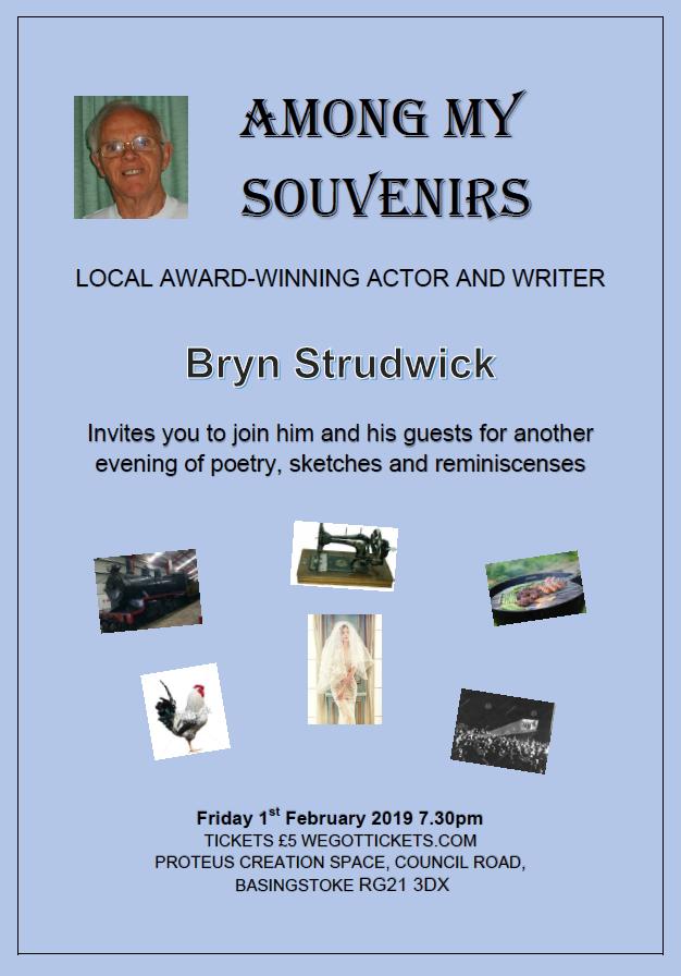Bryn Strudwick poetry show